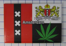 10 stuks koelkastmagneet Amsterdam 19.039