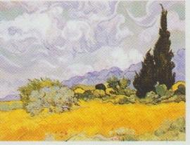 pak 50 stuks Kwaliteitsposters 35 x 45 cm  Cypresboom - Vincent van Gogh