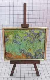 SCH004 schildersezel 16 cm hoog Vincent van Gogh, irrissen