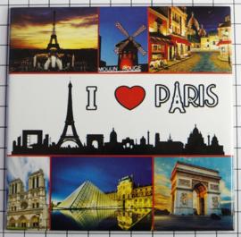 10 Magnettes Mega Paris MEGA_V_PD.001