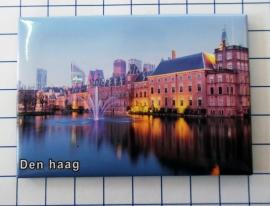 N_ZH3.014 koelkastmagneet Den Haag , pakje 10 stuks
