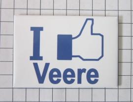 10 stuks koelkastmagneet I like Veere N_ZE4.502