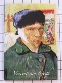 10 stuks koelkastmagneet Van Gogh  MAC:20.409