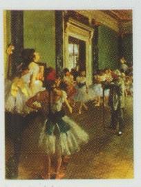 pak 50 stuks Kwaliteitsposters 35 x 45 cm Dansschool ballet - Edgar Degas