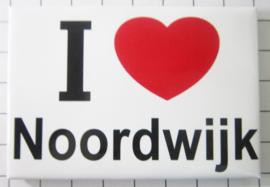10 stuks koelkastmagneet I love Noordwijk N_ZH10.002