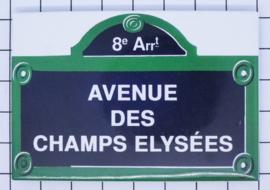 10 Magnettes Paris Mac:10.803