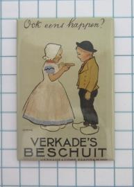 10 stuks koelkastmagneet Holland 20.528 affiche verkade