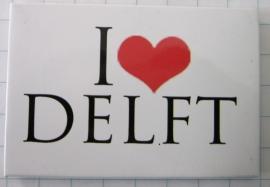 10 stuks koelkastmagneet I love delft holland N_ZH5.007