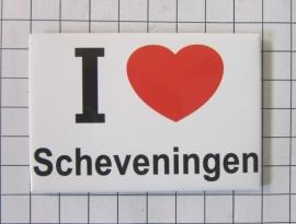 10 stuks koelkastmagneet I love Scheveningen N_ZH9.001
