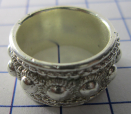ZKR006-Z Zeeuwse Knop echt Zilver