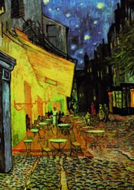 10 stuks poster op karton cafe Vincent van Gogh POS-0006 posters(20.8Cm / 29.5Cm)