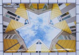 10 stuks koelkastmagneet Rotterdam N_ZH1.039
