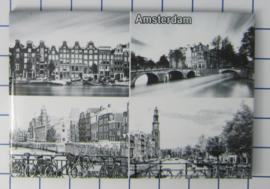 10 stuks koelkastmagneet Amsterdam 19.041
