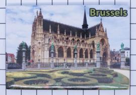 koelkastmagneet Brussels N_BX030
