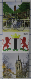 10 stuks koelkastmagneet Delft P_ZH5.0012