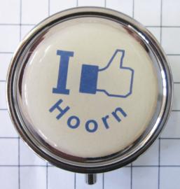 PIL_NH5.502 pillendoosje met spiegel ik hou van Hoorn