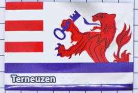 10 stuks koelkastmagneet Zeeland Terneuzen N_ZE7.202