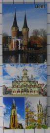 10 stuks koelkastmagneet Delft P_ZH5.0008
