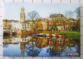 10 stuks koelkastmagneet  Zwolle N_OV3.003