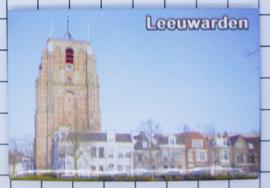 10 stuks koelkastmagneet Leeuwarden N_FR2.008