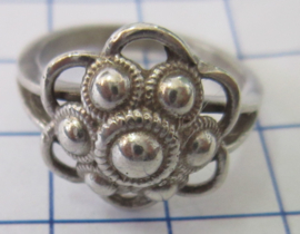 ZKR012-Z Zeeuwse Knop echt Zilver