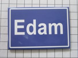 10 stuks koelkastmagneet  plaatsnaambord Edam  N_NH3.503