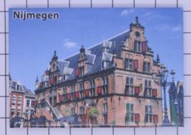 10 stuks koelkastmagneet Nijmegen  N_GE1.017