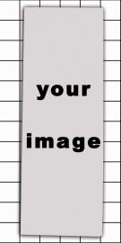 Magnette panoramique 116 mm x 41 mm avec votre image