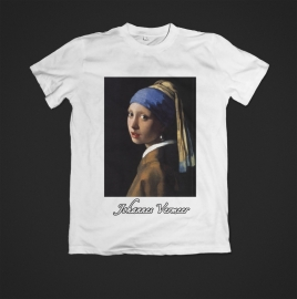T-shirt Johannes Vermeer uitverkocht
