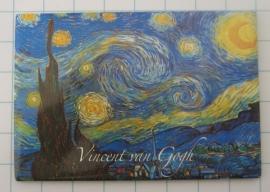 MAC 20.407 Koelkastmagneet Vincent van Gogh sterrennacht