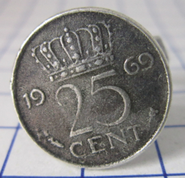 ring 25cent 1969