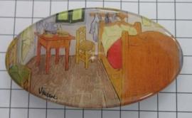 Haarspeld ovaal HAO 405 Kamer Vincent van Gogh