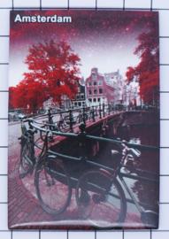 10 stuks koelkastmagneet Amsterdam  MAC:19.031