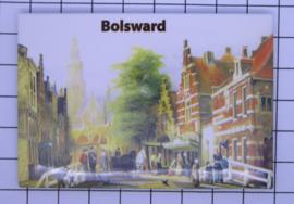 10 stuks koelkastmagneet  Bolsward  N_FR6.003
