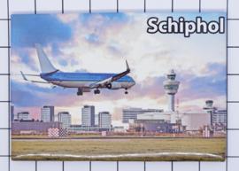 10 stuks koelkastmagneet Schiphol  N_NH19.001