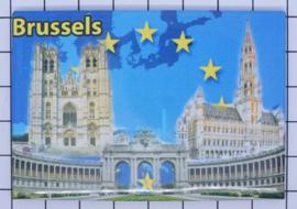 koelkastmagneet Brussels N_BX006