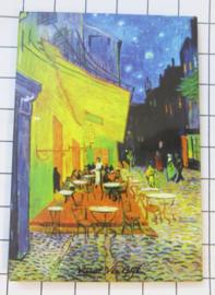 10 stuks koelkastmagneet Van Gogh  MAC:20.404