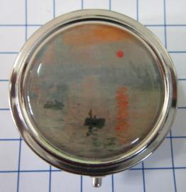 PIL 138 pillendoosje met spiegel Nachtwacht Rembrandt van Rijn