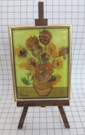 SCH001 schildersezel 16 cm hoog Vincent van Gogh