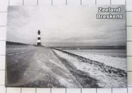 10 stuks koelkastmagneet Zeeland  Breskens N_ZE7.701