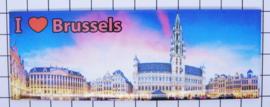 koelkastmagneet Brussels P_BX0006