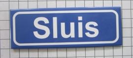 10 stuks koelkastmagneet  plaatsnaambord Sluis  P_ZE7.8001