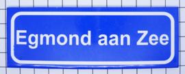 10 stuks koelkastmagneet  plaatsnaambord Egmond aan Zee P_NH15.0001