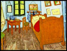 pak 25 posters (35.5 cm  x 27.2 cm) POS208 Kamer Vincent van Gogh