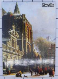 10 stuks koelkastmagneet  Zwolle N_OV3.004