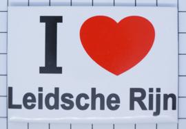 10 stuks koelkastmagneet I love  Leidsche Rijn  N_UT5.001