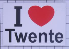 10 stuks koelkastmagneet I love Twente N_OV5.001