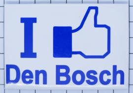10 stuks koelkastmagneet I like Den Bosch N_NB3.005