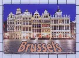 koelkastmagneet Brussels N_BX029