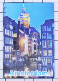 10 stuks koelkastmagneet Amsterdam  st Nicolaaskerk  18.974